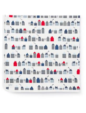 Houses Blanket