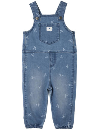 Plane Overalls 0-24 months