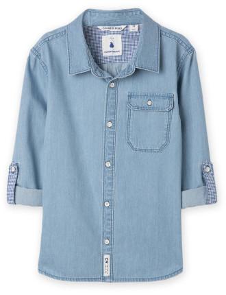 Denim Shirt 2-12 years