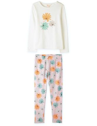 Tropical Leaf Pyjamas 2-12 years