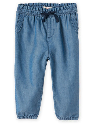 Chambray Pant 0-24 months