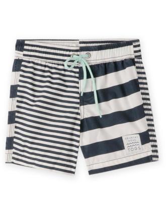 Stripe Boardshort 0-24 months