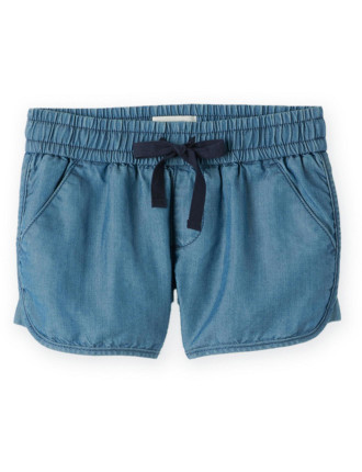 Sporty Chambray Short 2-12 years