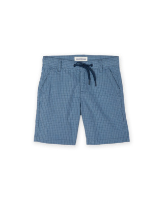 Gingham Drawcord Short