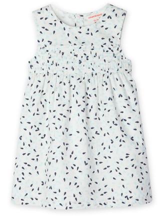 Scatter Leaf Dress