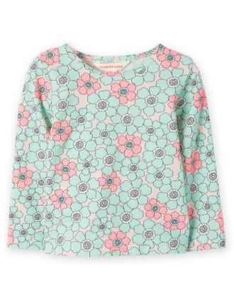 Floral Rash Vest 0-24 months