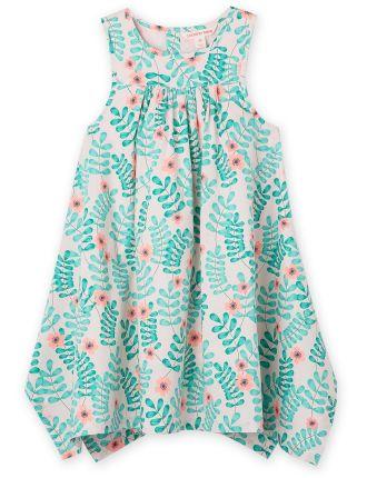 Floral Leaf Dress