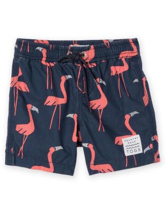 Flamingo Boardshort 0-24 months