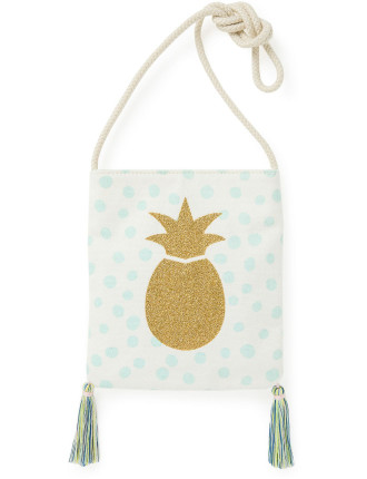 Girls Pineapple Print Bag