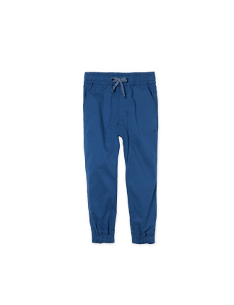 Drop Crotch Drawcord Pant