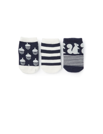 Newborn Socks Pack Of 3