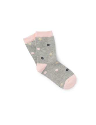 Multi Spot Socks