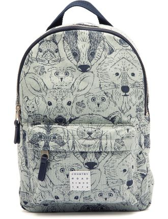 Animal Face Backpack