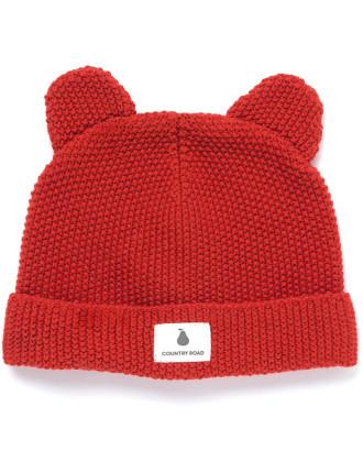 Unisex Knit Ears Beanie