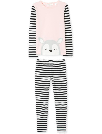 Deer Stripe Pyjamas