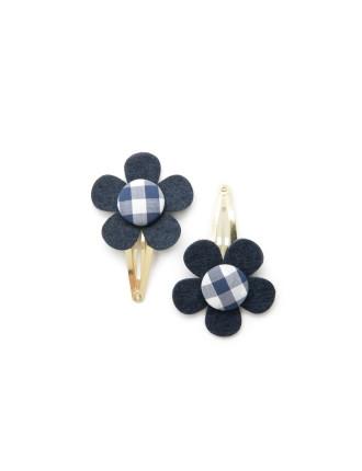 Flower Clip Pack Of 2