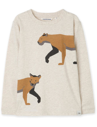 The Mountain Lion T Shirt Eat My Dust To Expand