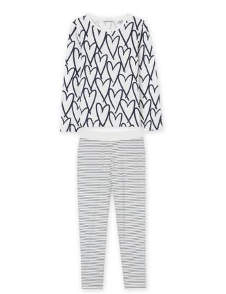 Heart Stripe Pyjamas