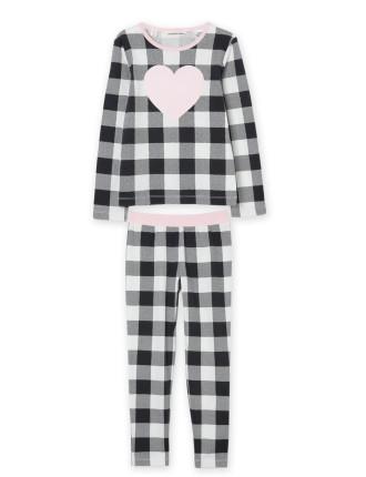 Gingham Heart Pyjamas