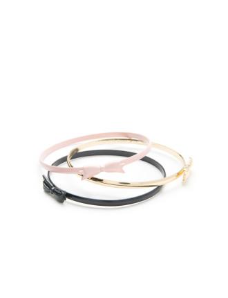 Bow Bracelet Pack Of 3