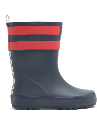 Stripe Gumboot