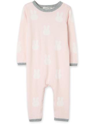 Bunny Knit Jumpsuit