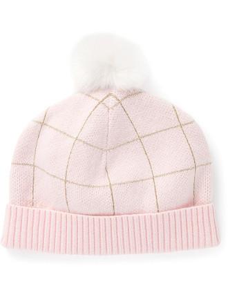 Grid Knit Beanie