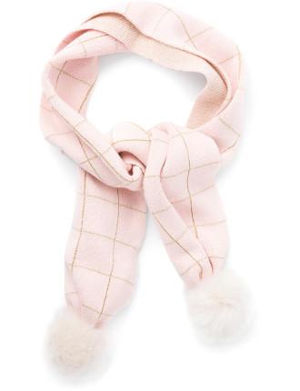 Grid Knit Scarf