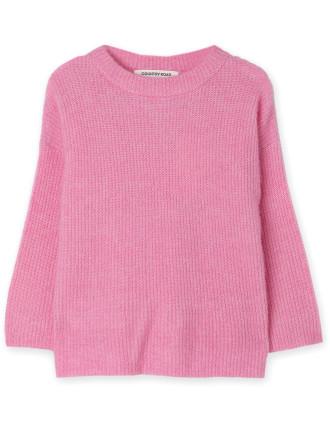 Fluffy Knit Pullover