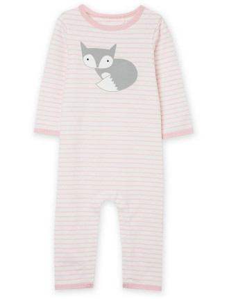 Stripe Fox Jumpsuit
