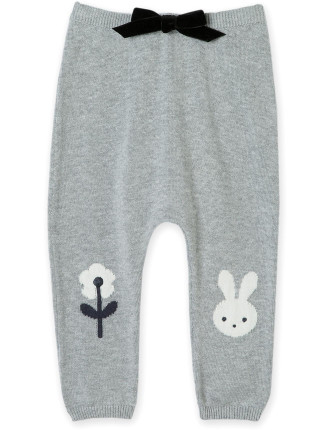 Bunny Knee Knit Pant