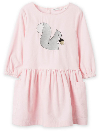 Squirrel Cord Dress