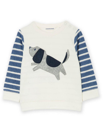 Applique Dog Sweat