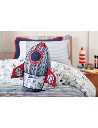 Jaspper Kids Rocket Cushion