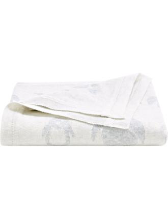 Pemberley Cotton Pram Blanket