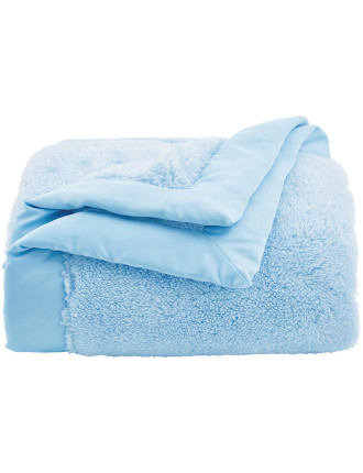Plushie Polyester Satin Bound Blanket