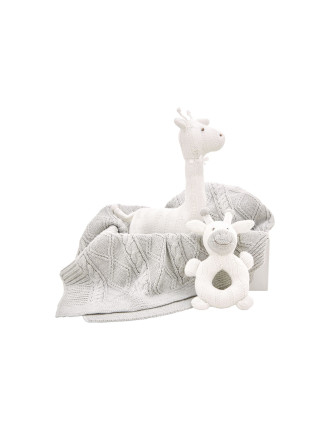Cartwright Blanket Toy & Rattle Gift Set
