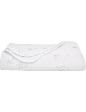 Starla Muslin Printed Blanket