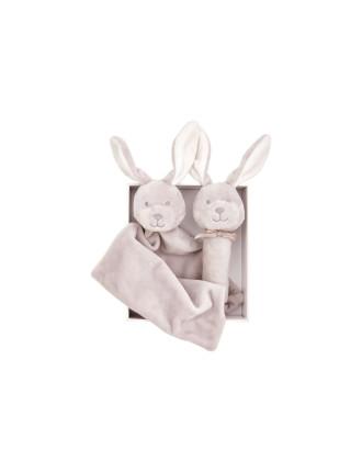 Marleigh Comforter & Rattle Gift Set