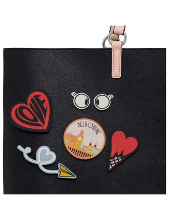Icon Love Heart Sticker