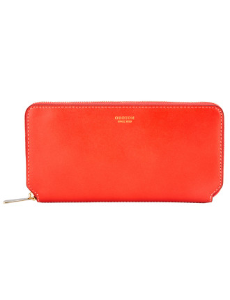Roam Slim Multi Pocket Zip Around Wallet