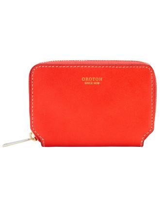 Roam 10Cc Mini Multi Pocket Zip Around Wallet