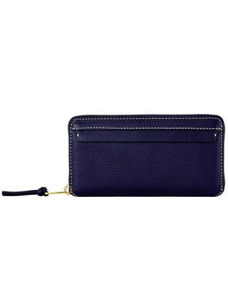 Odyssey Slim Multi Pocket Zip Around Wallet