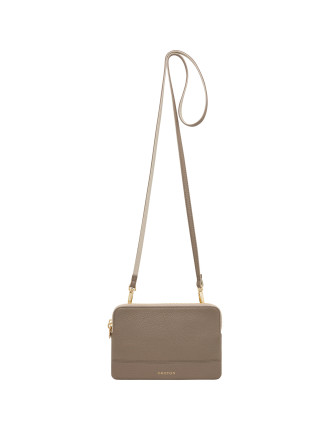 Bueno Contrast Double Clutch Bag