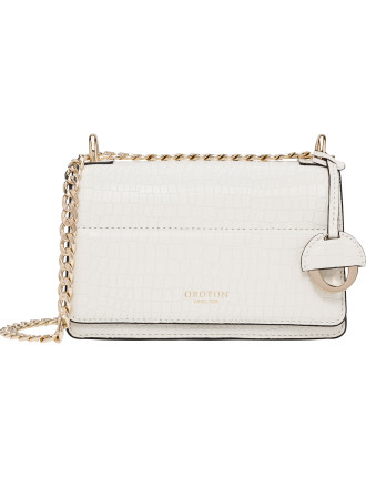 Forte Texture Mini Clutch Bag