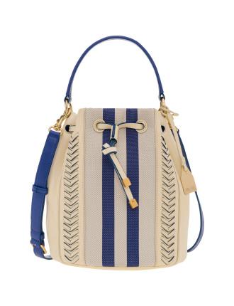 Journey Stitch Drawstring Bag