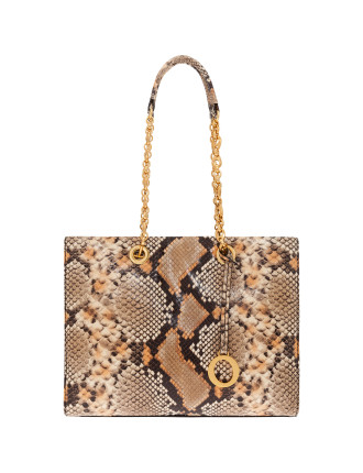 Alpine Chain Snake Medium Tote