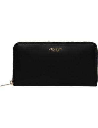 Solano Slim Multi Pocket Zip Around Wallet