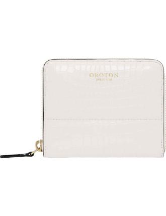 Forte Mini Multi Pocket Zip Around