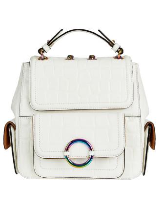 Ashbry Croc Mini Backpack